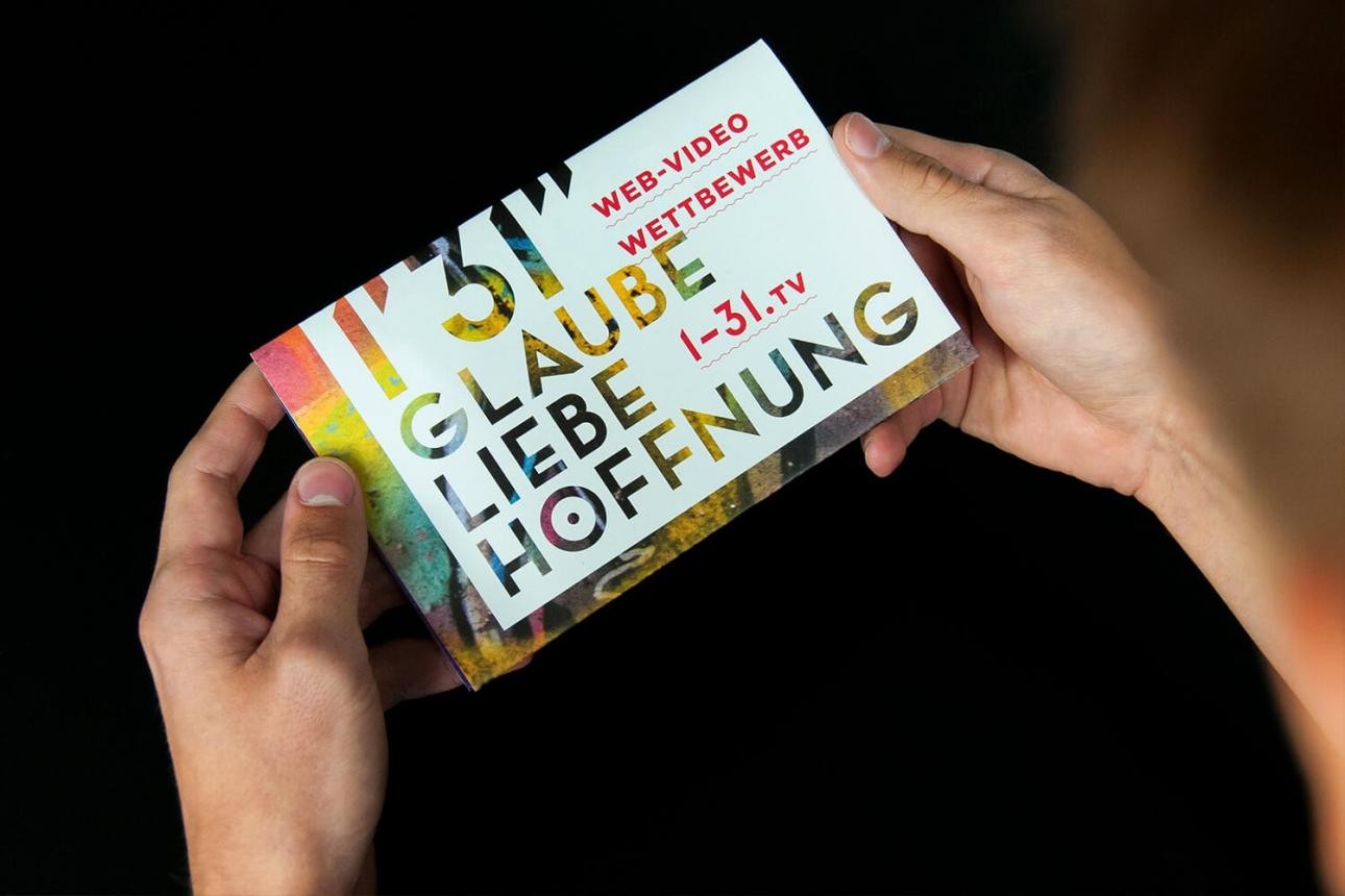 Glaube, Liebe, Hoffnung, Non-Profit Kampagne für Glaubenskommunikation von 31M