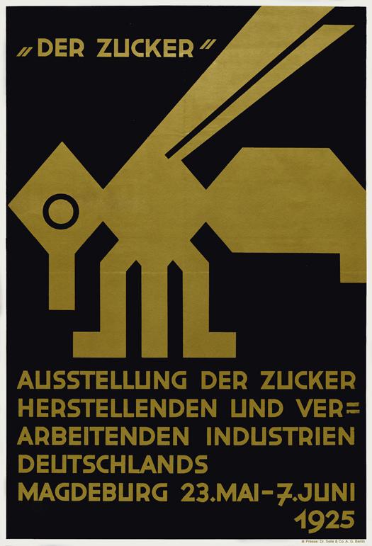 Plakat cover für Der Zucker