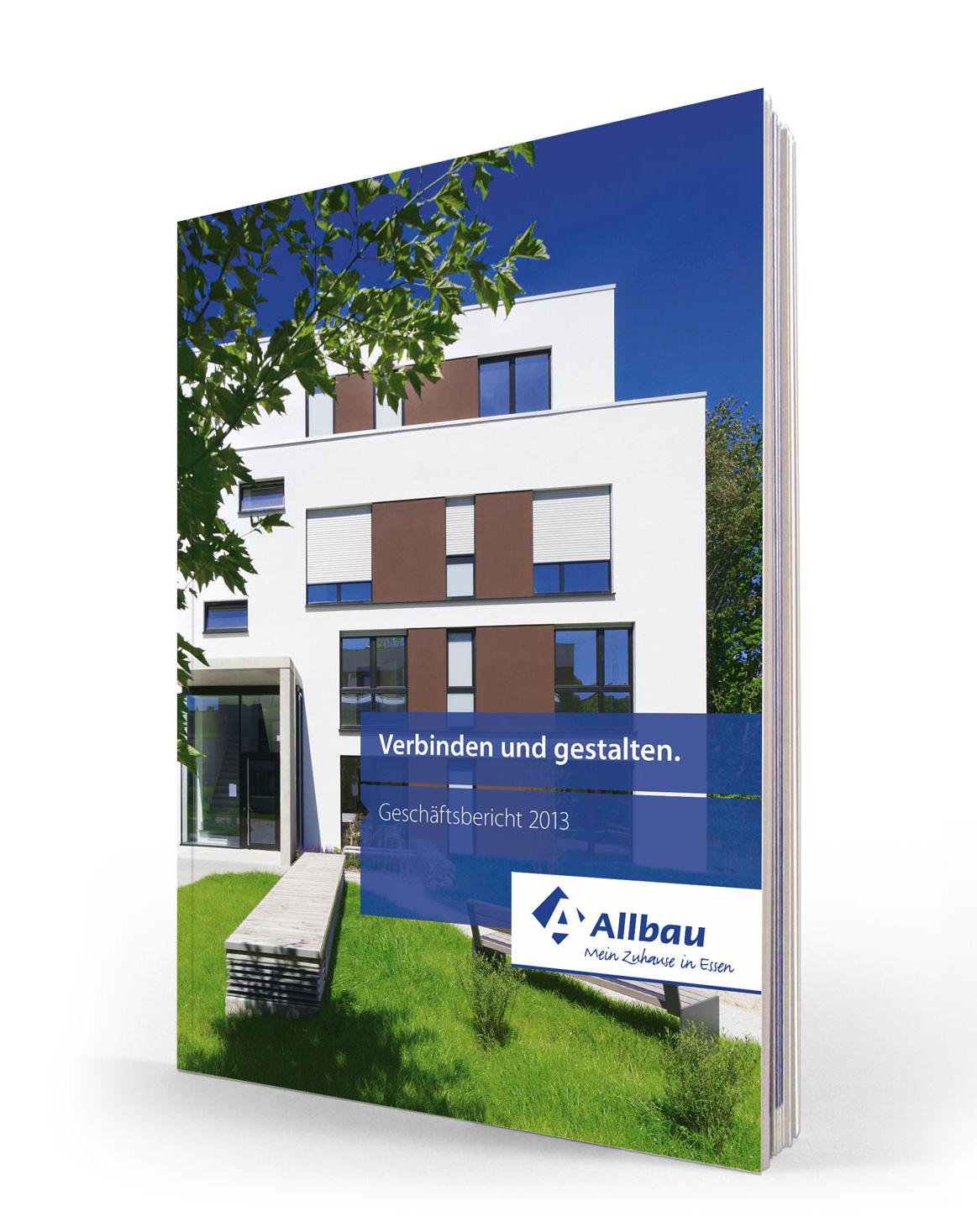 Magazin Cover für Allbau