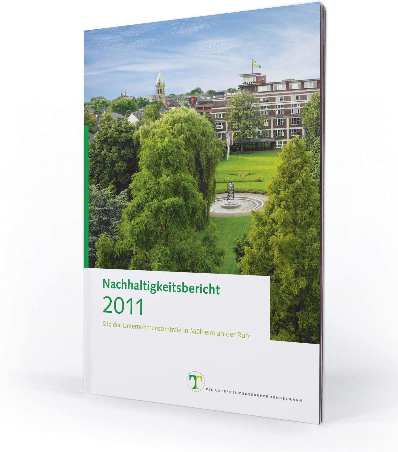 Nachhaltigkeitsbericht Cover für Tengelmann