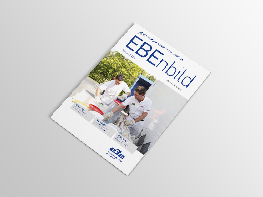 Magazin Cover Ansicht für EBE