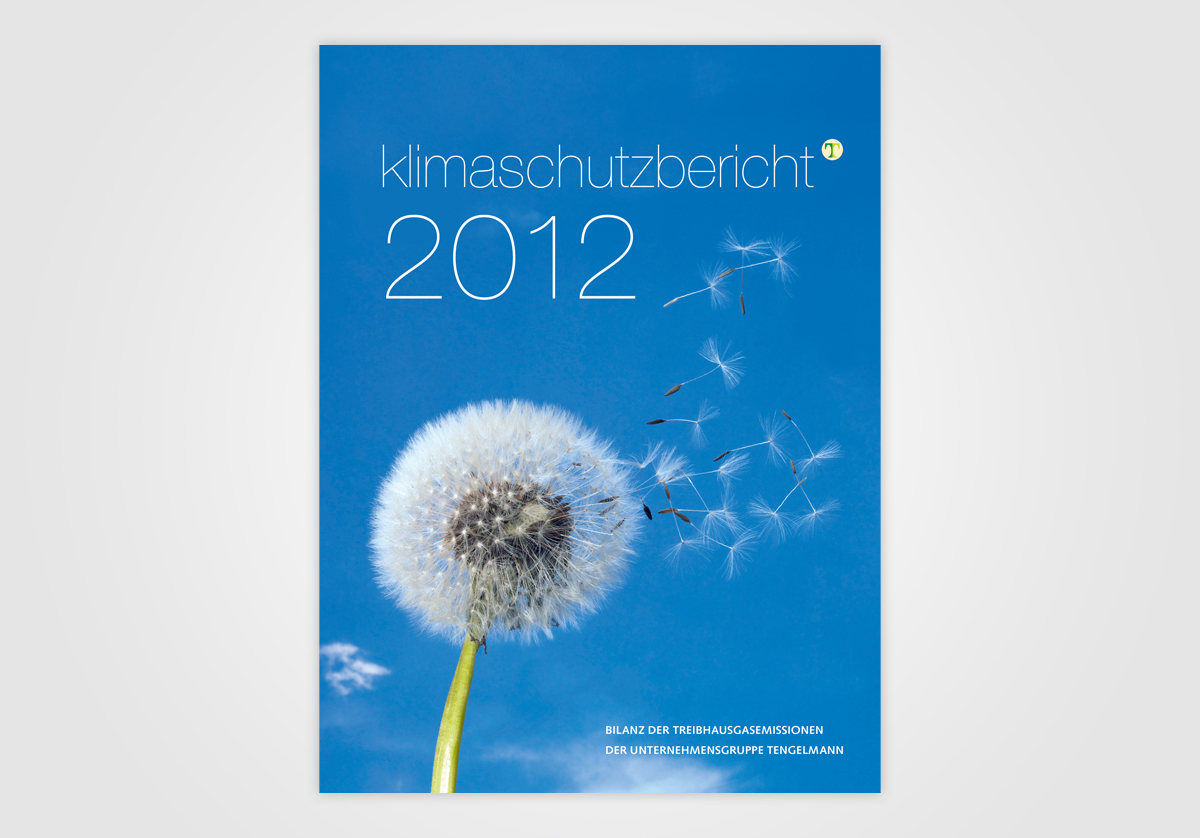 Cover Klimaschutzbericht für Tengelmann