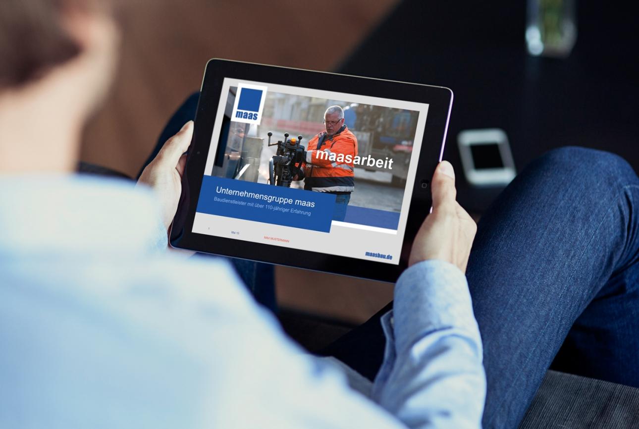 Responsive Webdesign für Maas