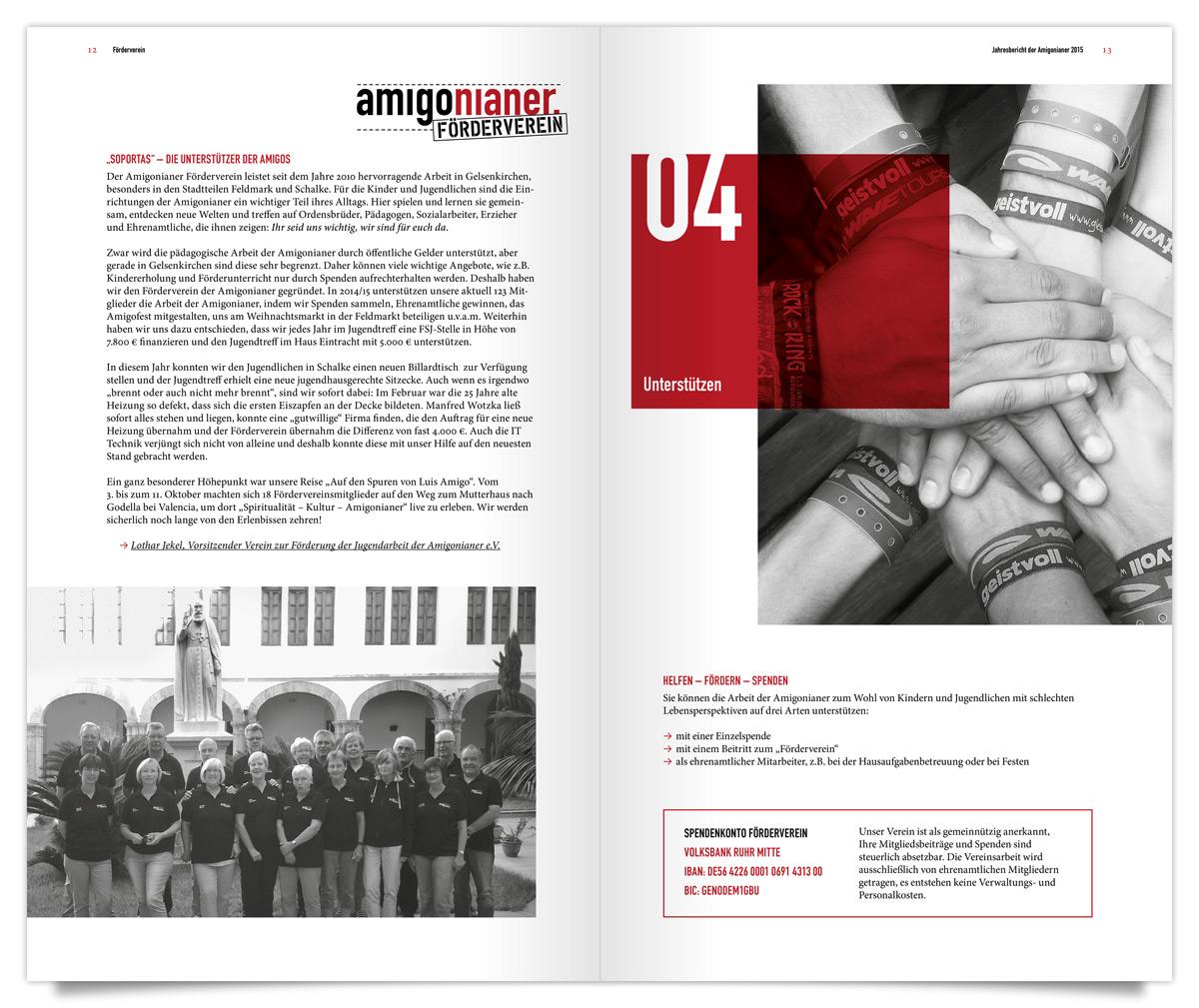 Magazin Ansicht vin Innen für die Amigonianer