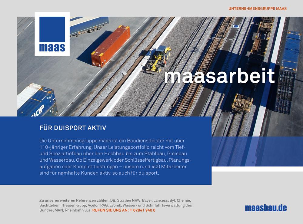 Plakat Cover für Maas