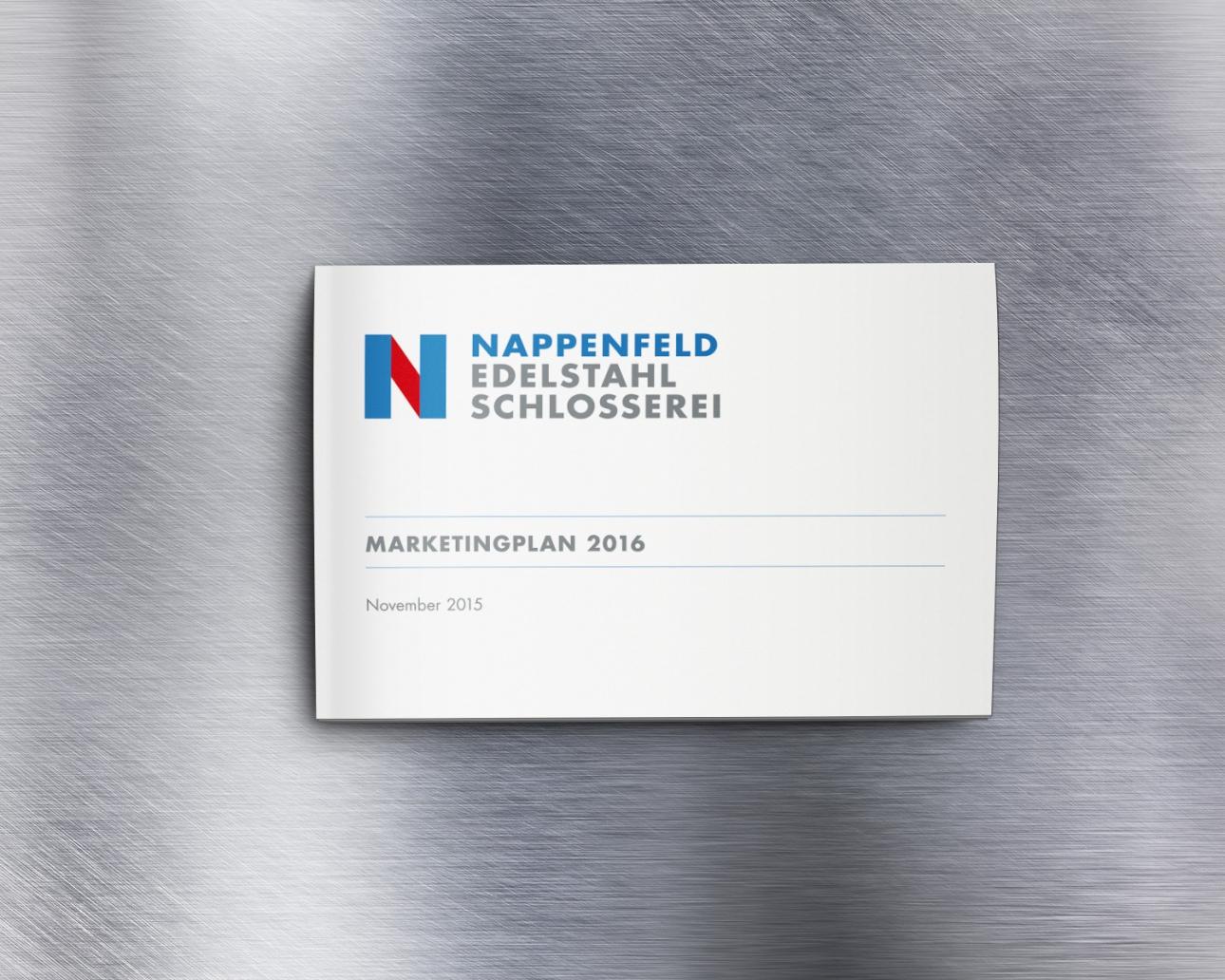 Marketingplan Cover für Nappenfeld