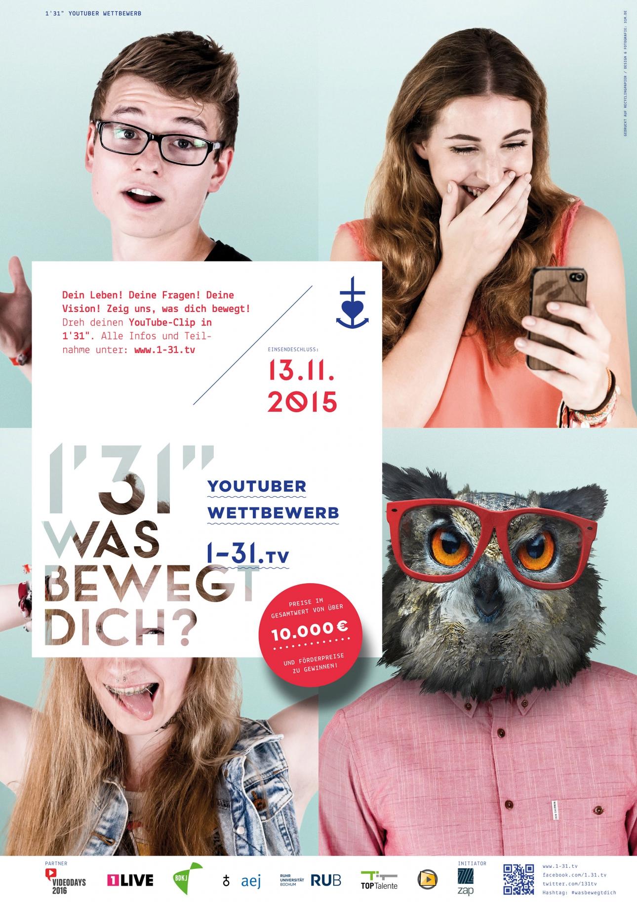 """Plakat Cover für 1'31"""""""