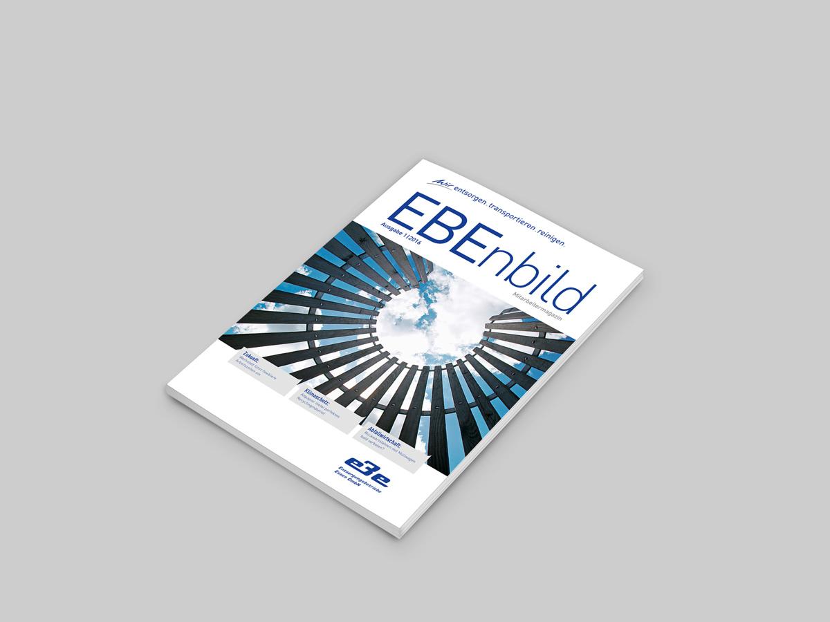 Magazin Cover für EBE