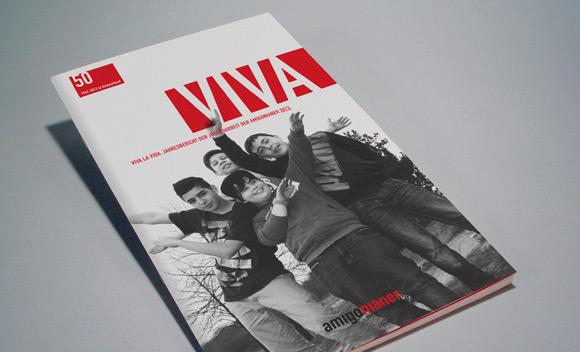 Magazincover für die Amigonianer