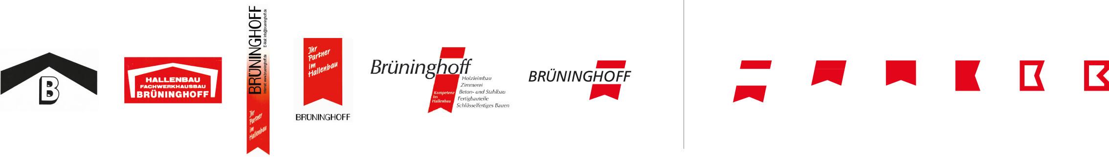 Logoentwicklung und Relaunch Corporate Design Brüninghoff