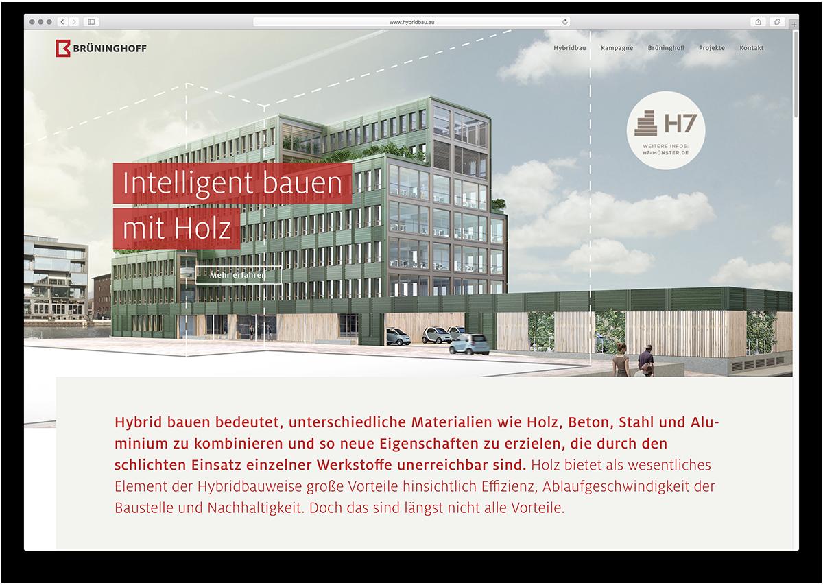 Webdesign für Brüninghoff