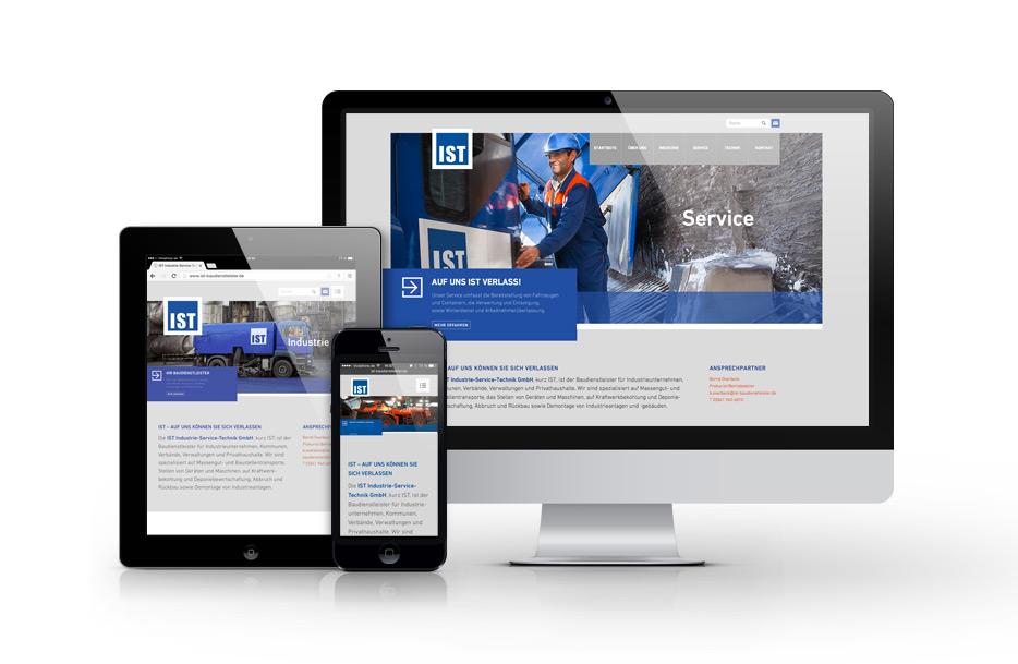 Responsive Webdesign für IST