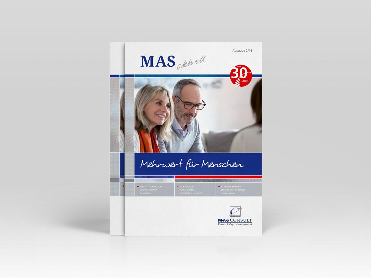 Magazin Cover für MAS