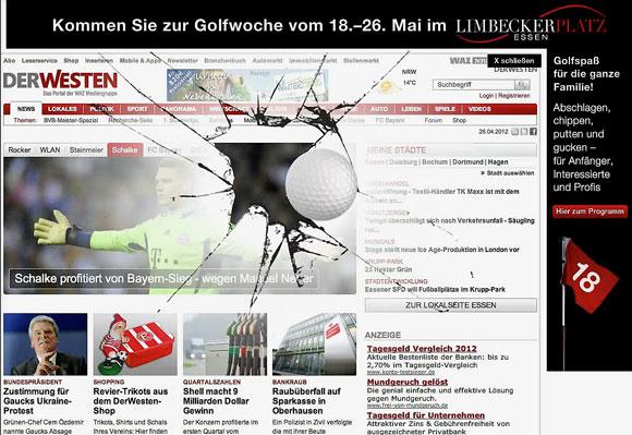 Webdesign für der Westen