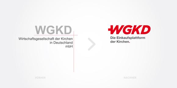 Logodesign: voher - nachher