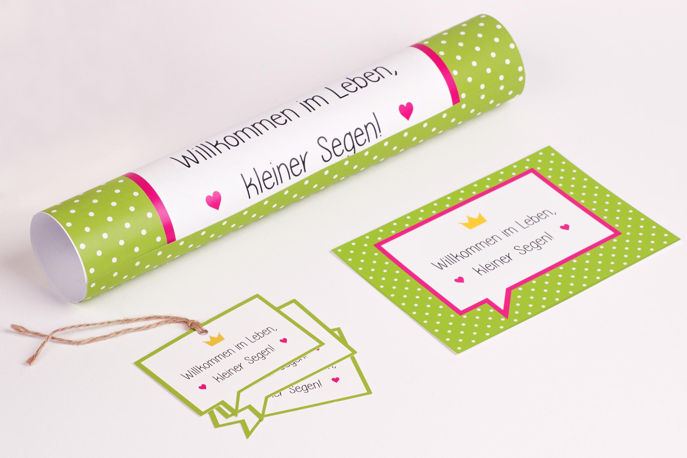 Segen für Babys – Bistum Essen – Drucksachen Design