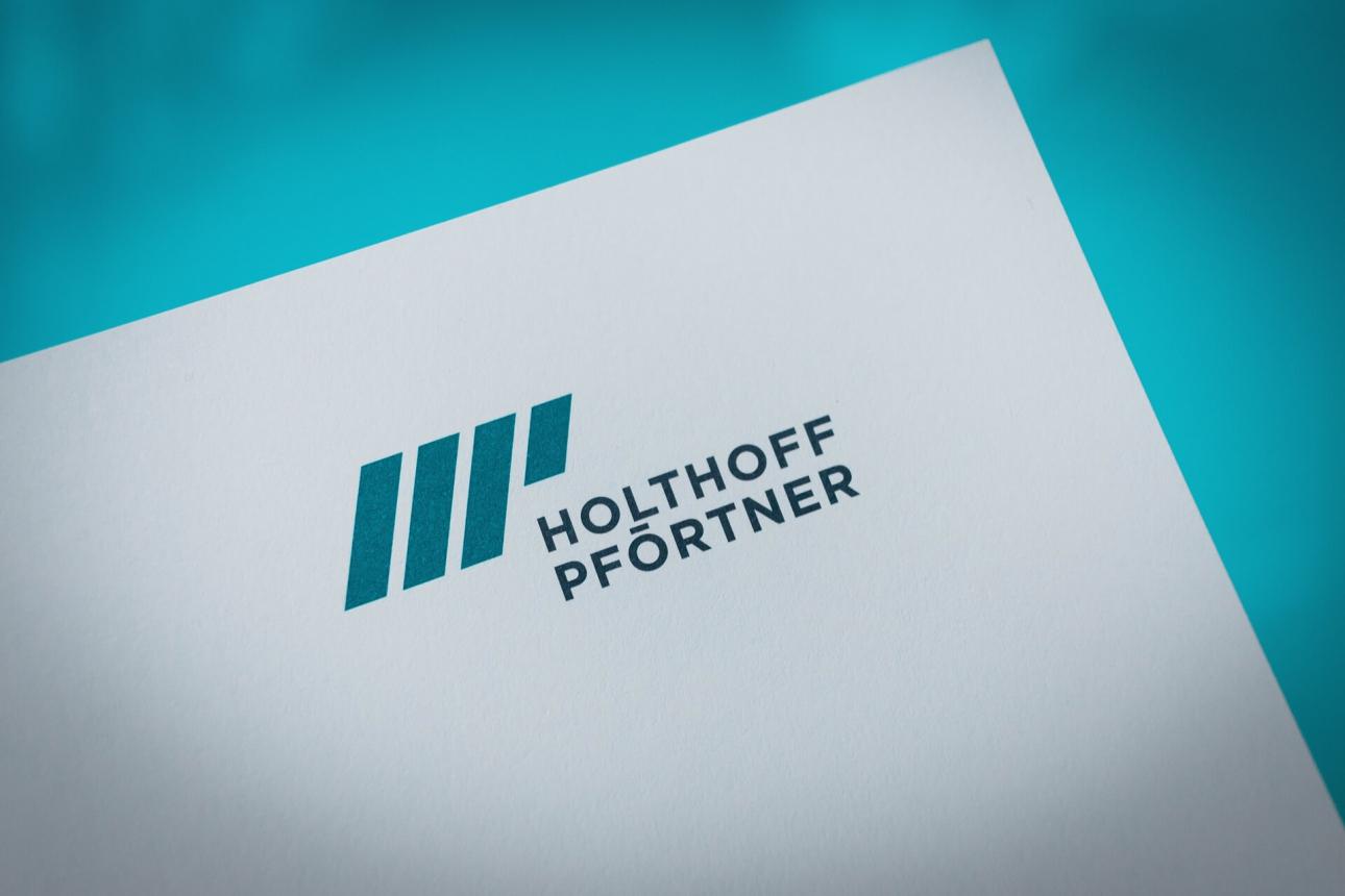 Neues Corporate Design für Anwaltskanzlei Holthoff Pförtner