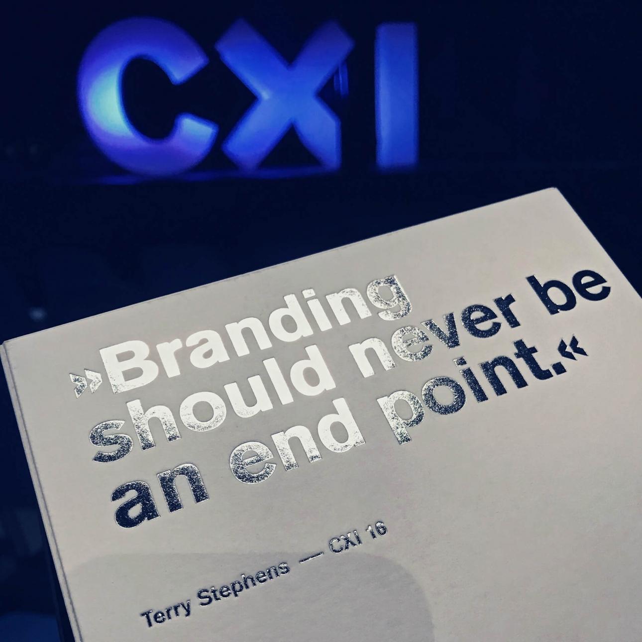 31M Design- und Werbeagentur auf der CXI Corporate Design Konferenz Bielefeld