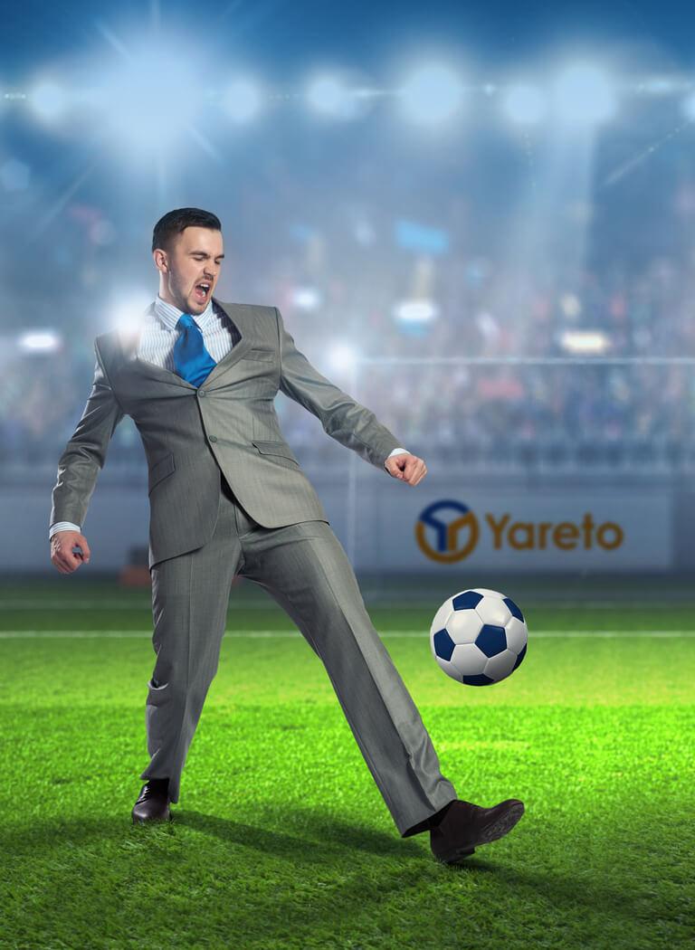 Konzeption und Design von Marketingkampagnen und Werbung für yareto.de von der 31M Design- und Werbeagentur
