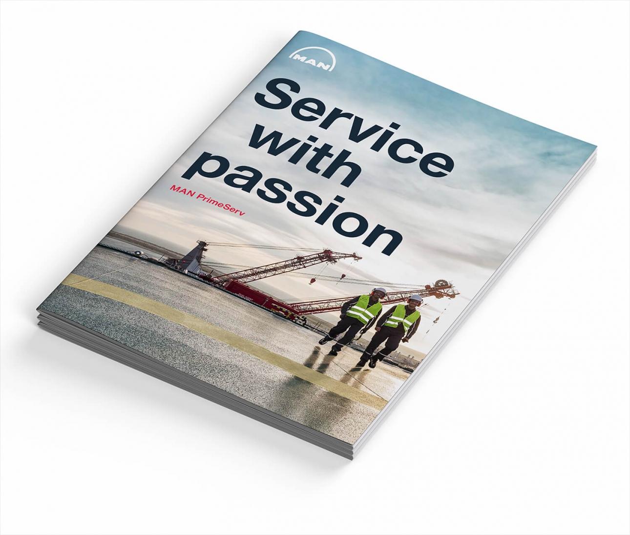 Corporate Design: Folder Cover für MAN