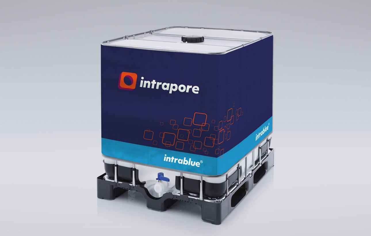IBC Container intrablue