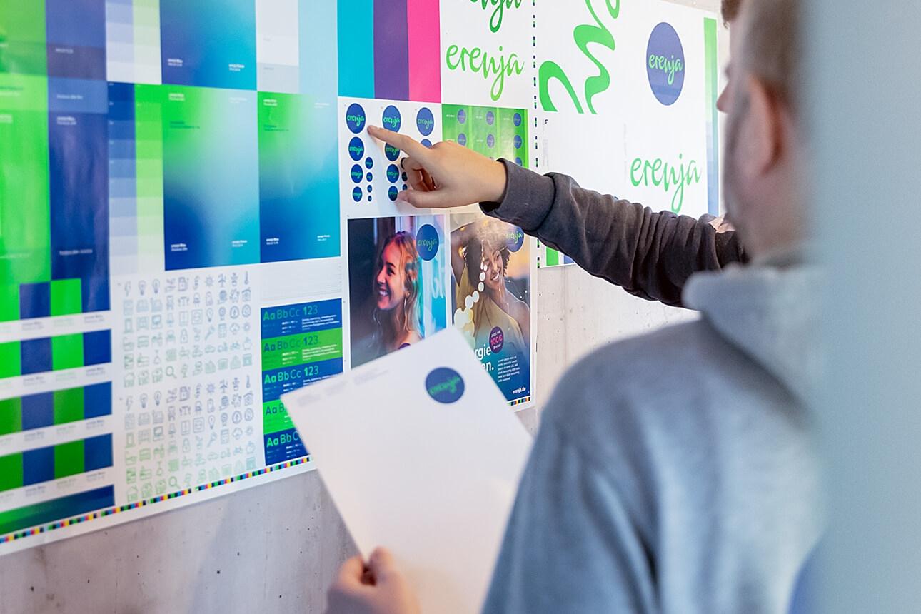 Markenentwicklung, Naming und Corporate Design für erenja von der Agentur 31M aus Essen, Ruhrgebiet