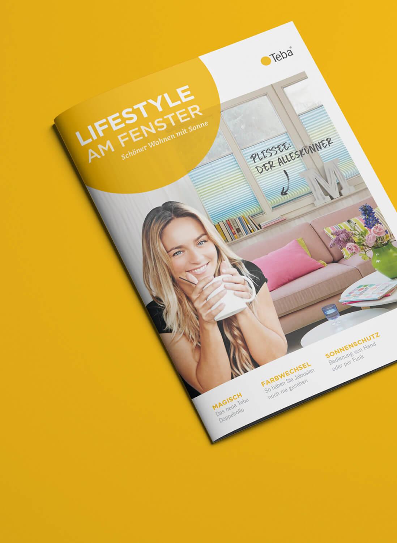 Corporate Publishing, Magazingestaltung für TEBA von der 31M Design- und Werbeagentur, Essen