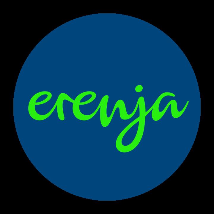 Das neue Logo von erenja, entwickelt von 31M