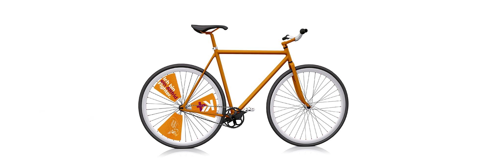 Rad am Ring Fahrradbeschriftung, Eventbranding, Corporate Design, Non-Profit