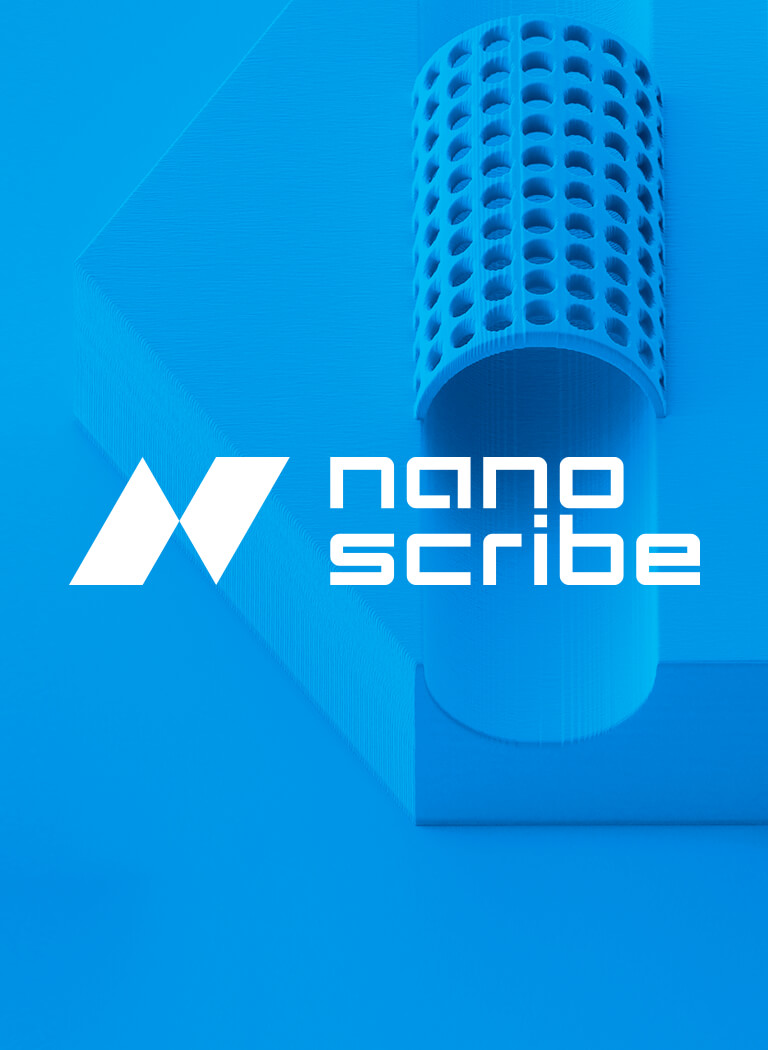 Corporate Design Nanoscribe