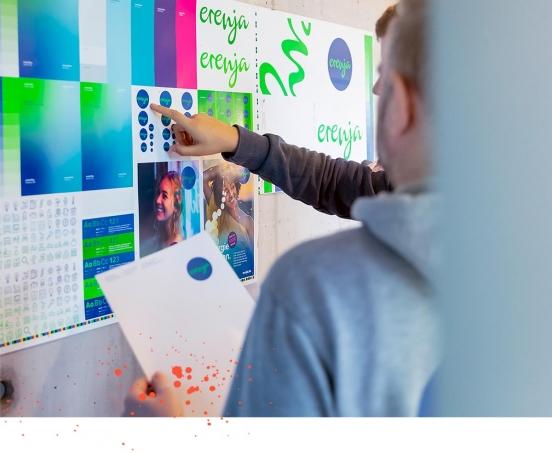 Die Corporate Design Agentur 31M erstellte die prämierte Markenwelt für erenja