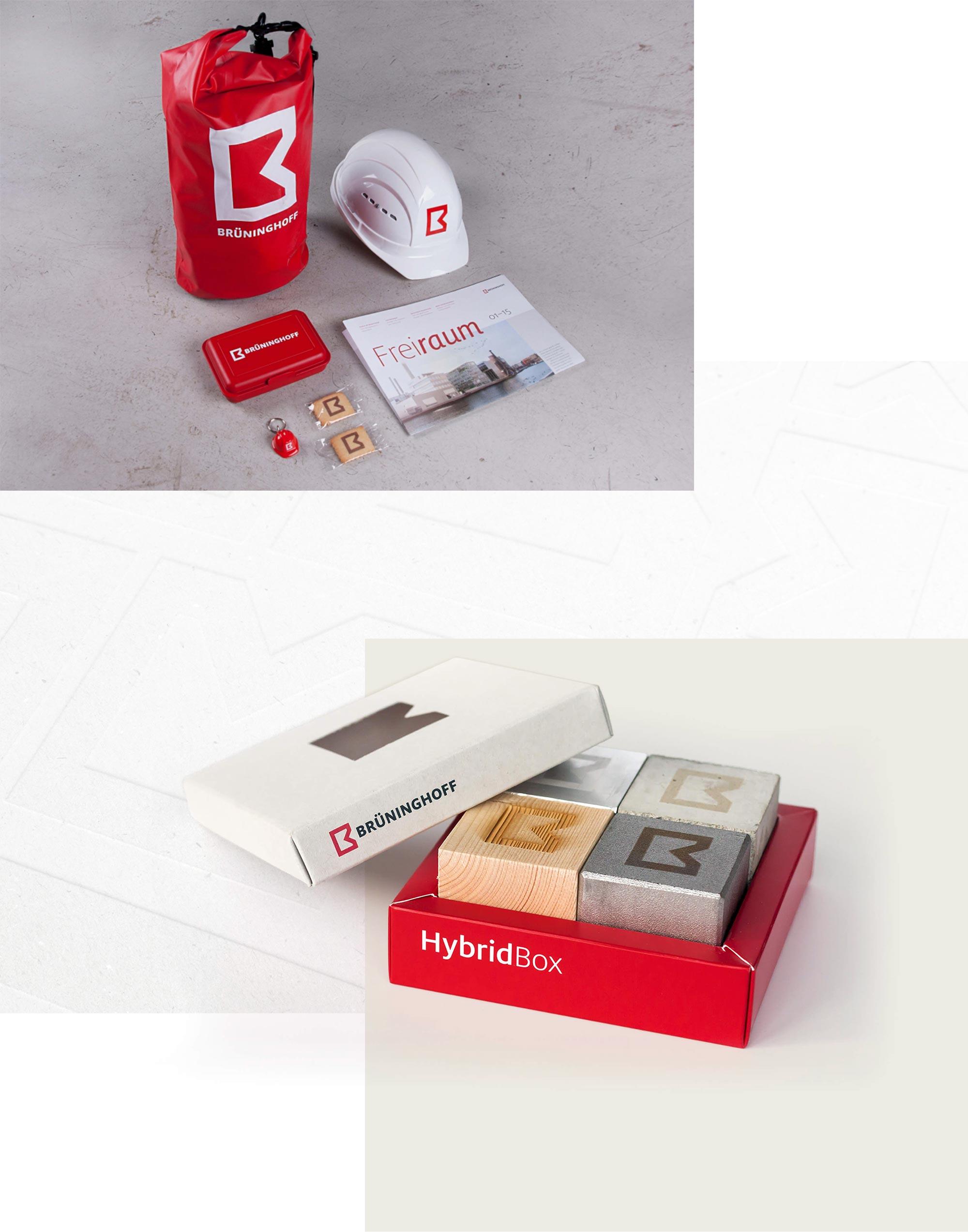 Übersicht Branding mit der neuen Bildmarke im neuen Corporate Design