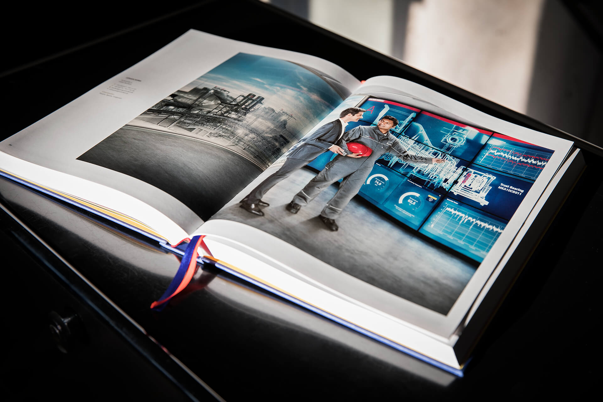 Ausgabe 2020 von Blickfang Deutschlands beste Fotografen Doppelseite mit Keyvisual für MAN von 31M