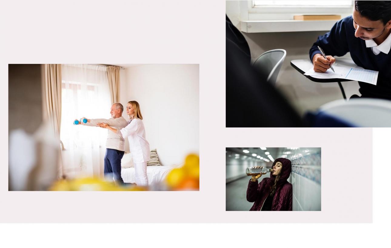 Neue Bildwelt für die Caritas Gelsenkirchen