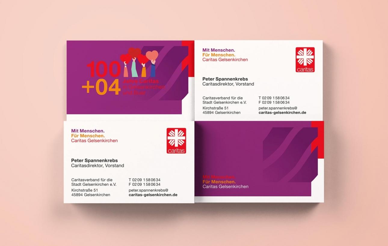 Visitenkarten im neuen Corporate Design