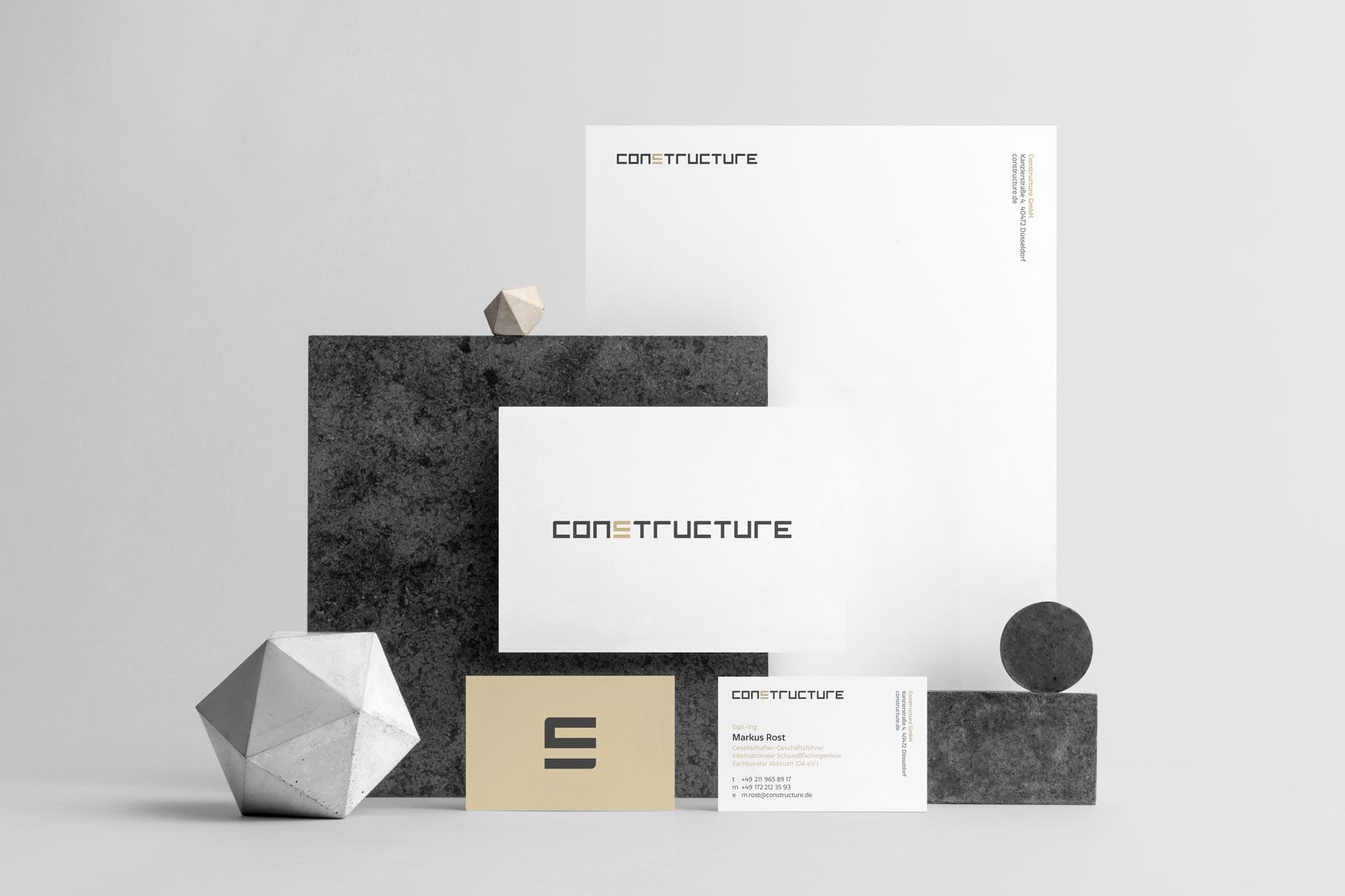 Neues Corporate Design für constructure