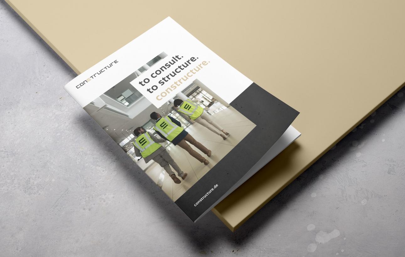 Broschürencover im neuen Corporate Design