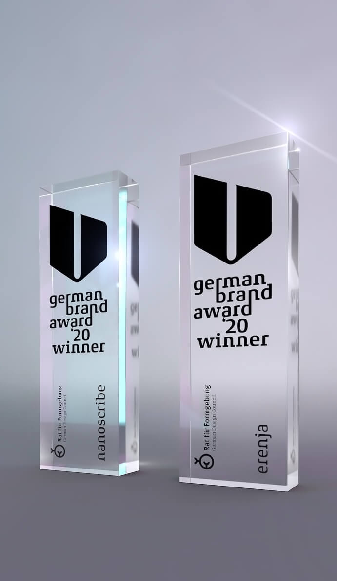 Auszeichnung German Brand Awards Corporate Design 2020