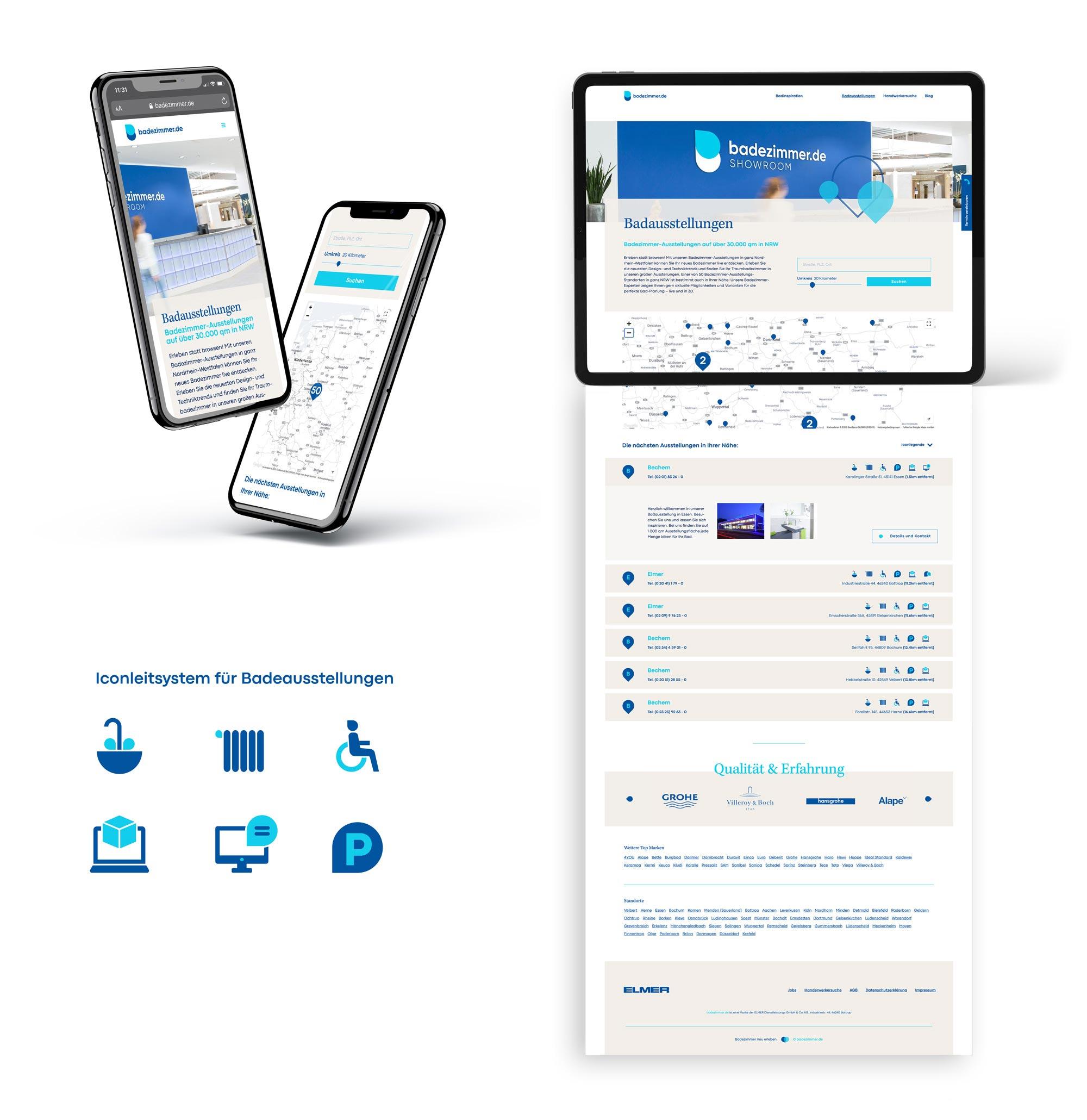 Passende Icons führen zu einer einfachen Nutzerführung.