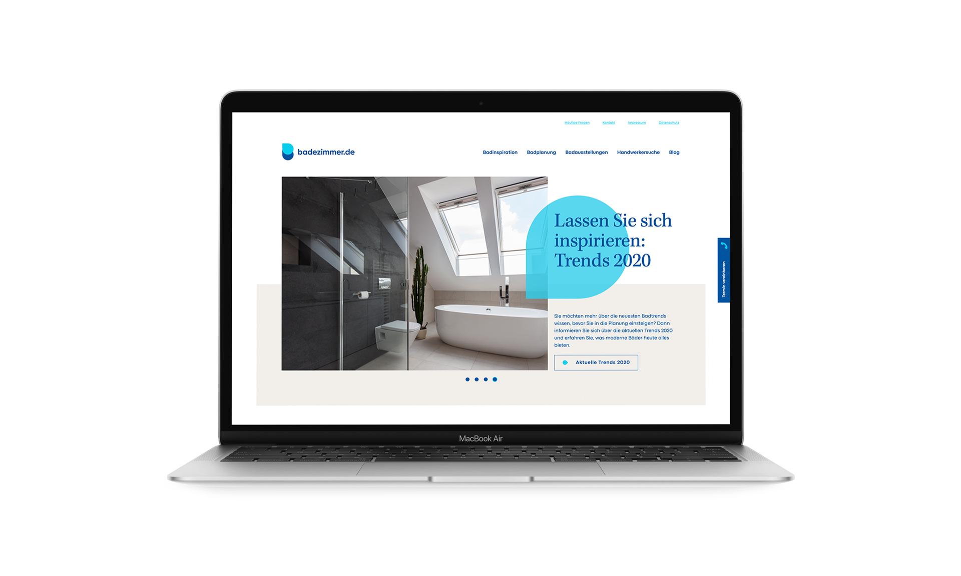 Webdesign und SEO-Maßnahmen für badezimmer.de