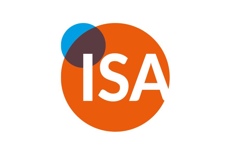 Logo für die Internetseite von ISA