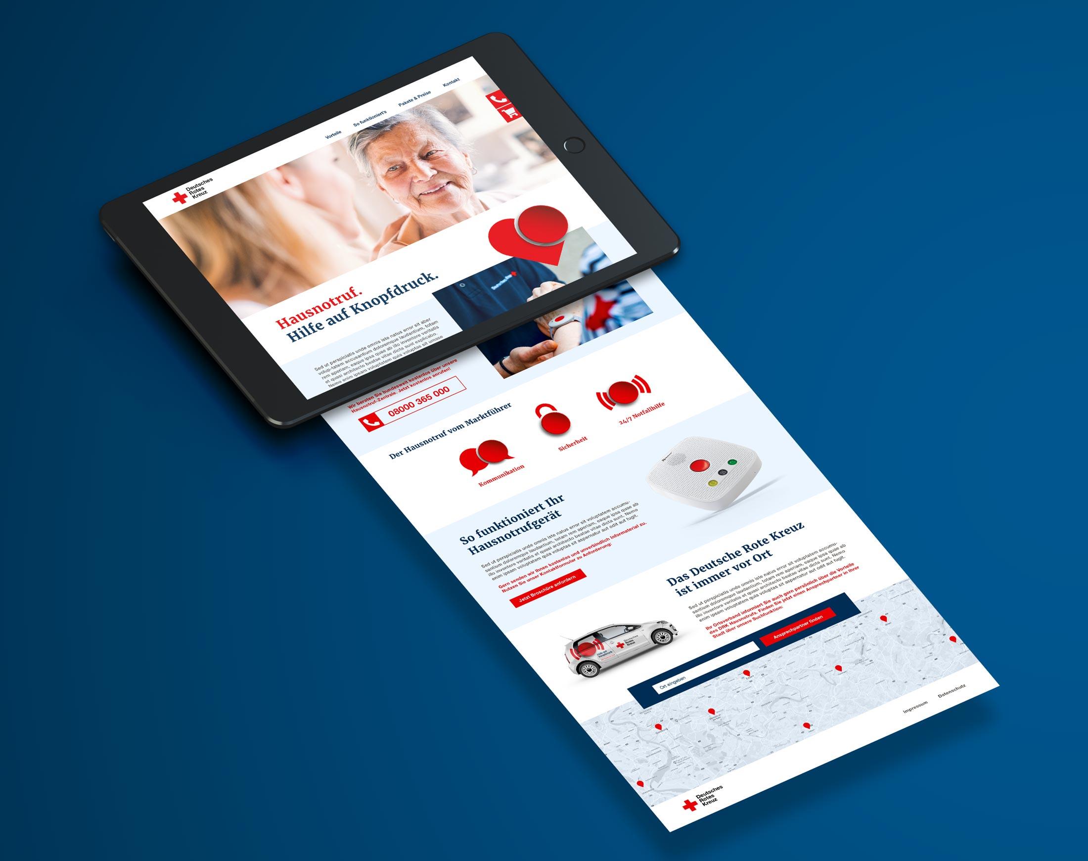Neue Kampagnen-Website mit SEO-Optimierung