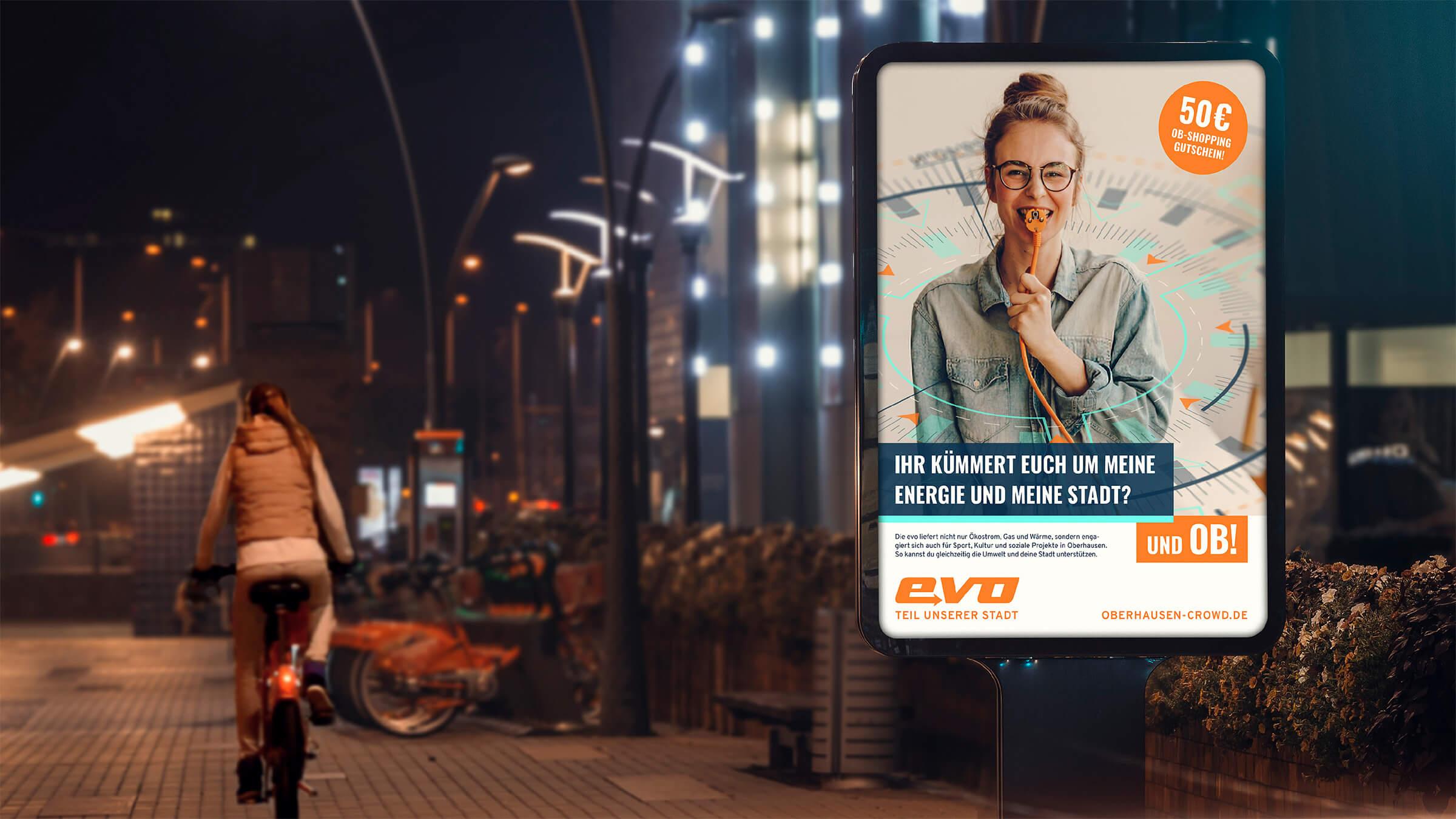 City Light der Image-Kampagne