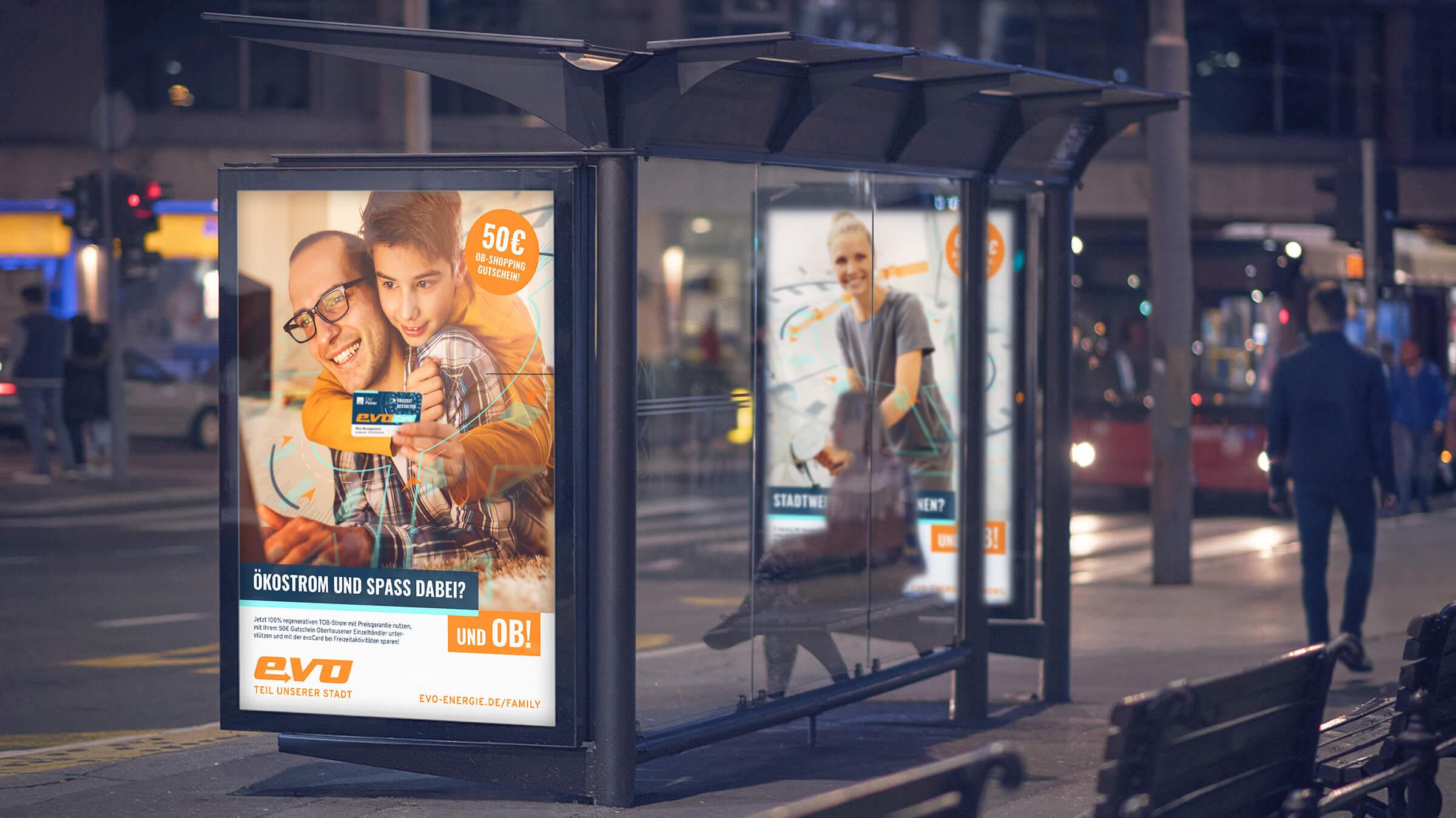 Plakatmotiv City Lights der Image-Kampagne