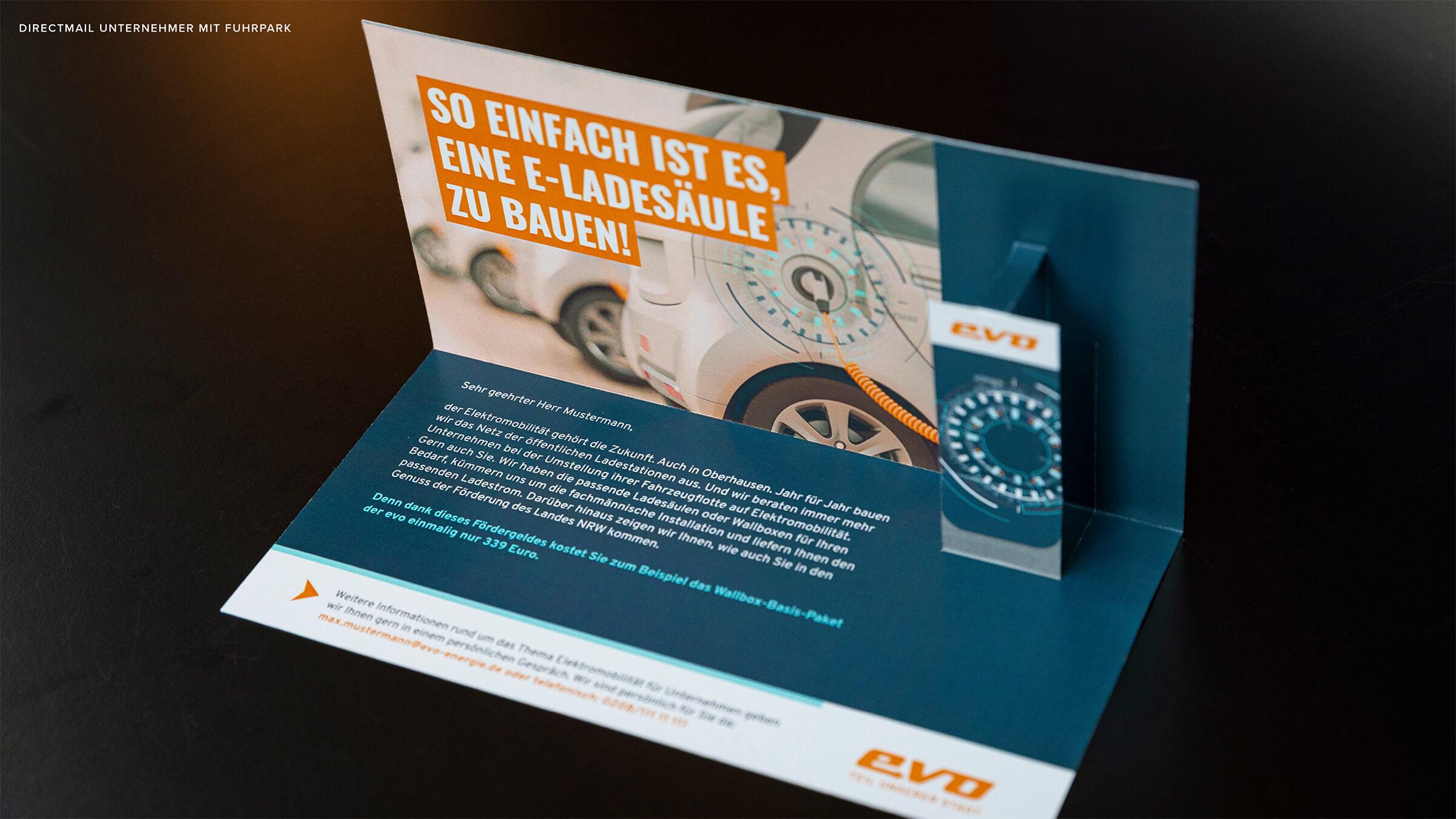 3D-Directmailing für Firmenkunden Innenseite