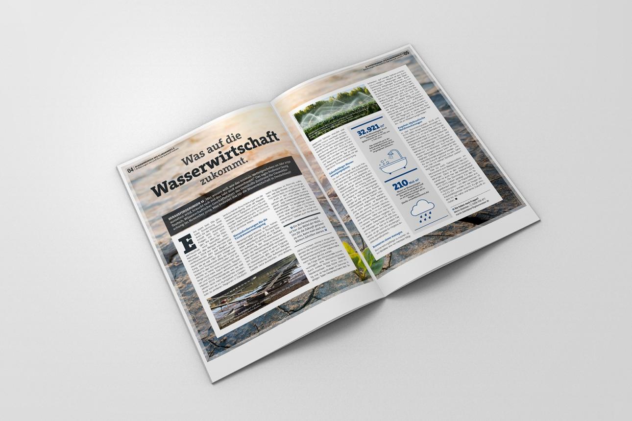 Interviews und Texterstellung für Gelsenwasser Magazin