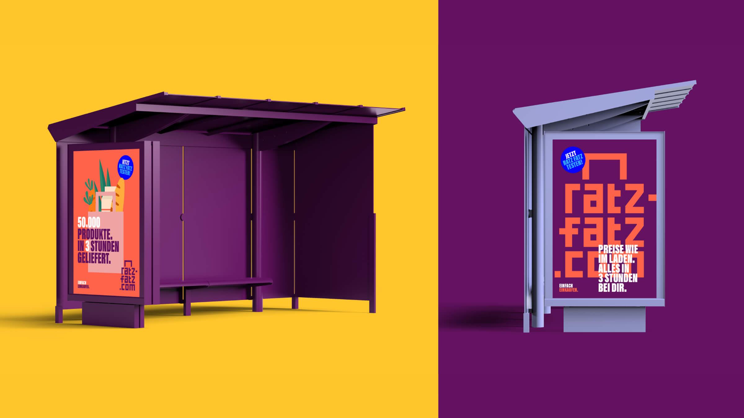 Branding und Corporate Design für Essener Start-Up Ratz-Fatz.com