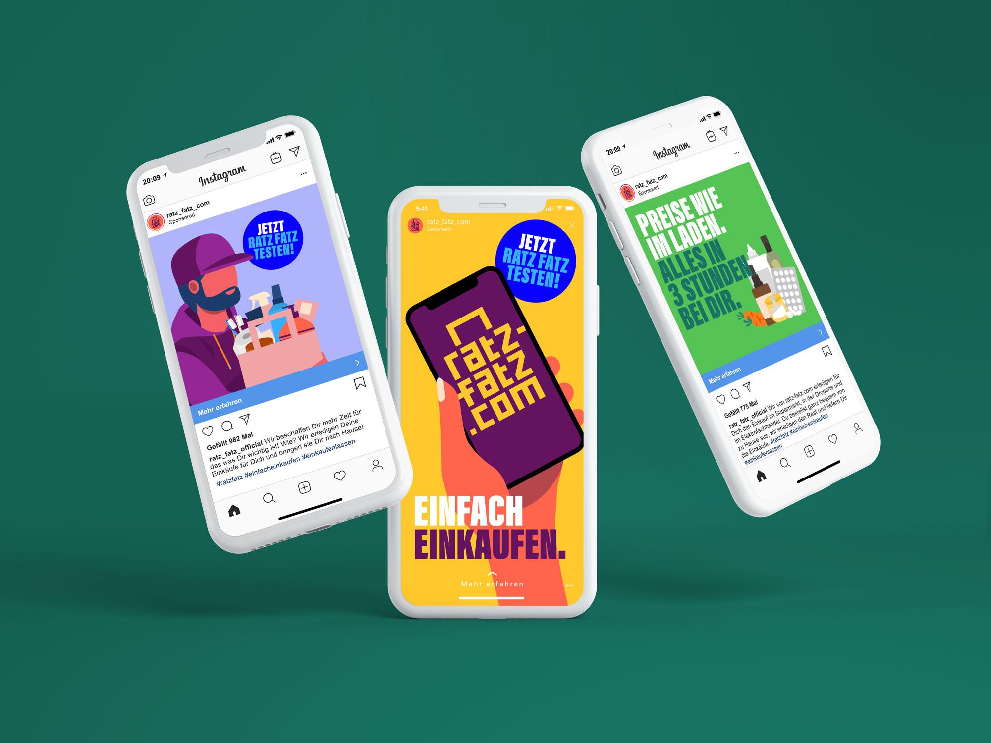 Social Media Marketing und Anzeigen für Essener Start-up Ratz-Fatz.com