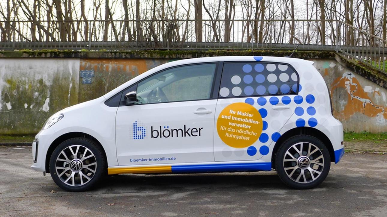 Fahrzeugbeschriftung für E-Fahrzeuge