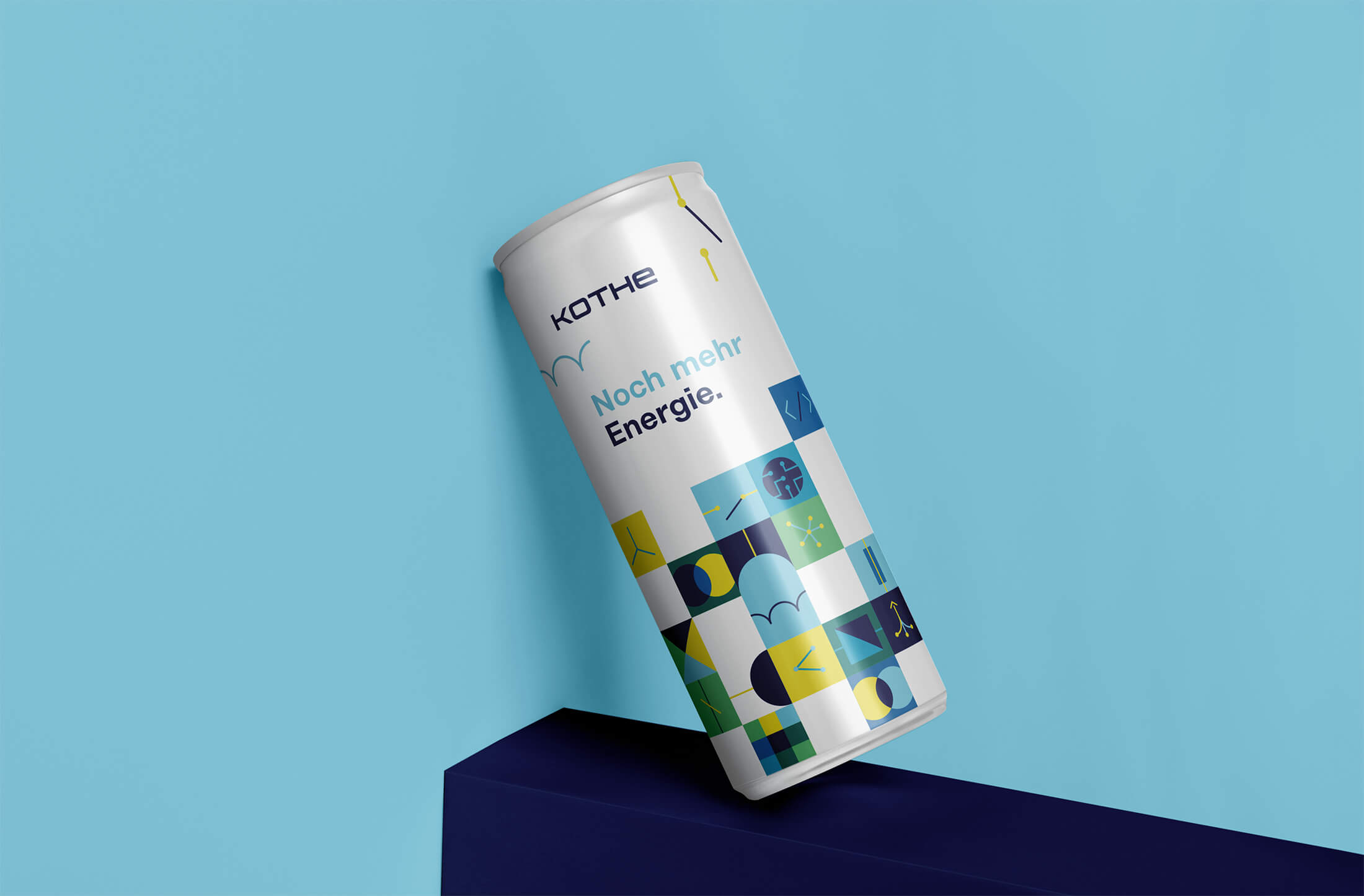 Design Energy Drink für Kothe im Corporate Design